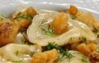Молодой картофель с тмином в пароварке