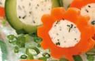 Морковно-творожная начинка для бутербродов в пароварке