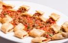 Мясо рубленое с овощами в аэрогриле