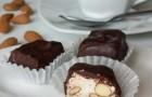 Нуга шоколадная в пароварке