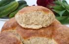 Огуречный хлеб в хлебопечке