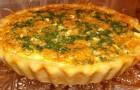 Открытый капустный пирог в мультиварке