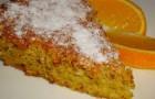 Пирог апельсиновый в аэрогриле