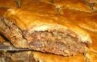 Пирог ореховый в аэрогриле