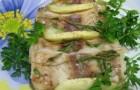 Рыба в яблоках в скороварке