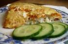 Рыбная запеканка с рисом в аэрогриле