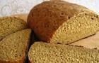 Ржаной сливочный хлеб в хлебопечке