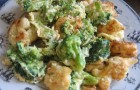 Савойская капуста с брокколи в скороварке