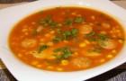 Суп «Острая кукуруза» в скороварке
