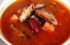 Суп из бычков в томатном соусе в скороварке