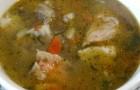 Суп из филе хека со шпинатом в скороварке
