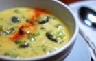 Суп из кальмаров с брокколи в скороварке