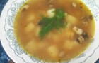 Суп из шампиньонов с сыром в скороварке