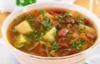 Суп из свинины с картофелем в скороварке