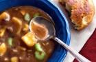 Суп из телятины и брокколи в скороварке