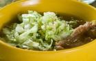 Суп из утки с пекинской капустой в скороварке