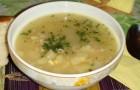 Суп куриный душистый в арогриле