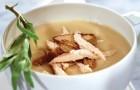 Суп-пюре из курицы в пароварке