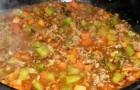 Суп с поджаркой в аэрогриле