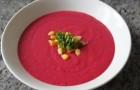 Свекольный суп с луком в скороварке