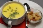 Сырный суп-пюре в пароварке