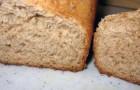 Цельнозерновой хлеб с арахисовым маслом в хлебопечке