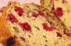 Цельнозерновой хлеб с клюквой в хлебопечке
