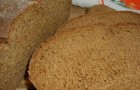 Цельнозерновой хлеб с медом в хлебопечке