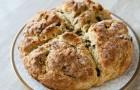 Цельнозерновой ирландский хлеб в хлебопечке