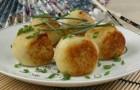 Тефтели картофельные в аэрогриле