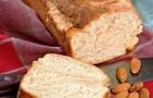 Ванильно-миндальный хлеб в хлебопечке