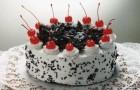 Вишневый торт в мультиварке