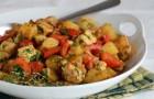 Жаркое из индейки с овощами в скороварке