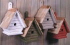 24 марта 2015 года: изготавливаем домики для птиц