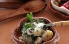 Картофель с фетой по-гречески