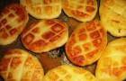 Картофельные котлеты с домашним творогом
