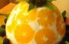 """Торт """"Апельсиновый"""" с домашним йогуртом"""