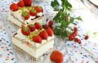 Йогуртовые пирожные