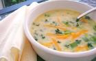 Йогуртовый суп с морковью