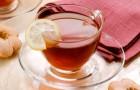 Лимонный чай с ванилью